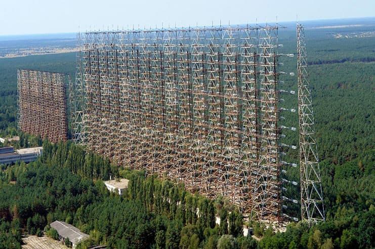 ЗГРЛС дуга Чернобыль-2